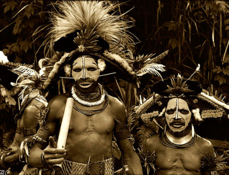 We can not apply our concept of homosexual to the members of a Sambia tribe. White and brown.